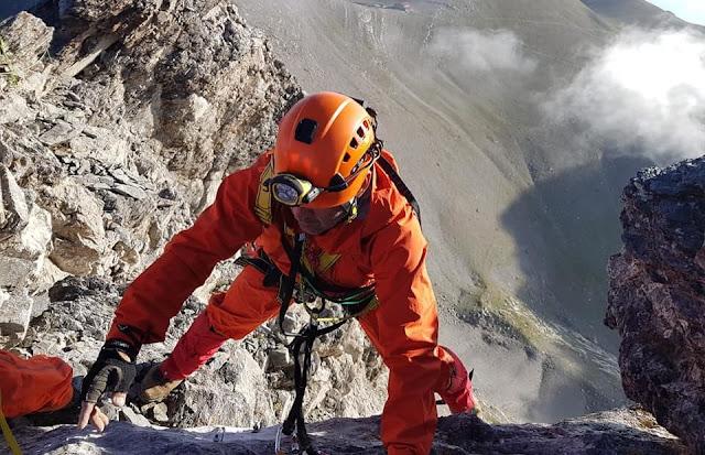 Επιχείρηση της πυροσβεστικής στον Όλυμπο για πτώση ορειβάτη σε χαράδρα