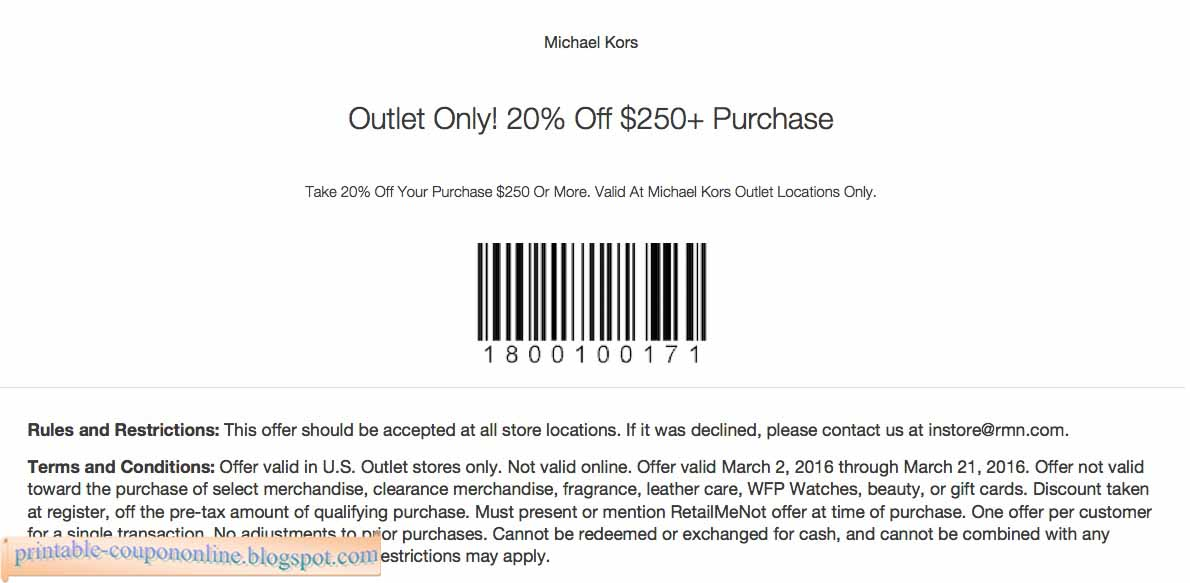Michaels com coupon code