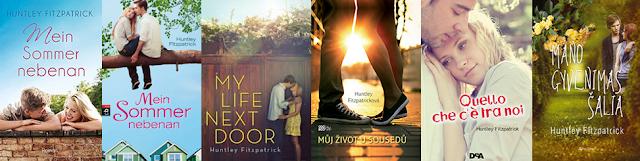 capas estrangeiras do livro Minha vida mora ao lado
