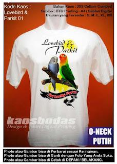 Lovebird dan Parkit 01
