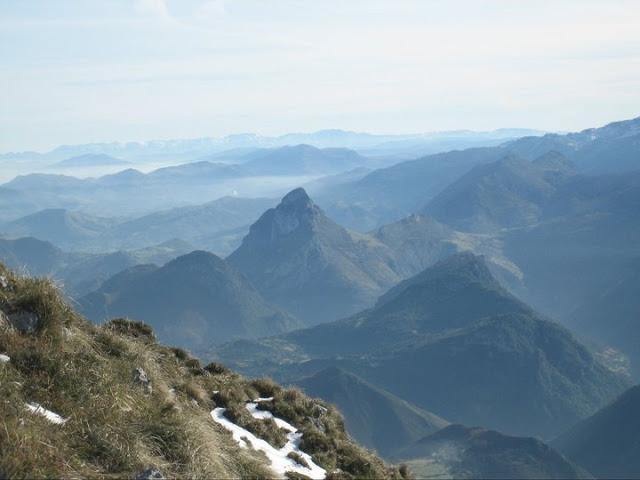 Rutas Montaña Asturias: Vista de la Pica de Peñamellera