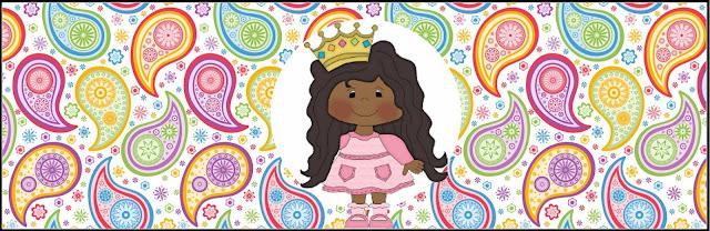Princesa Afro: Etiquetas para Candy Bar para Imprimir Gratis.
