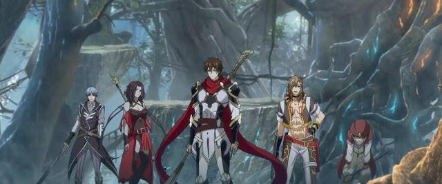 Kadr z bohaterami Quanzhi Gaoshou