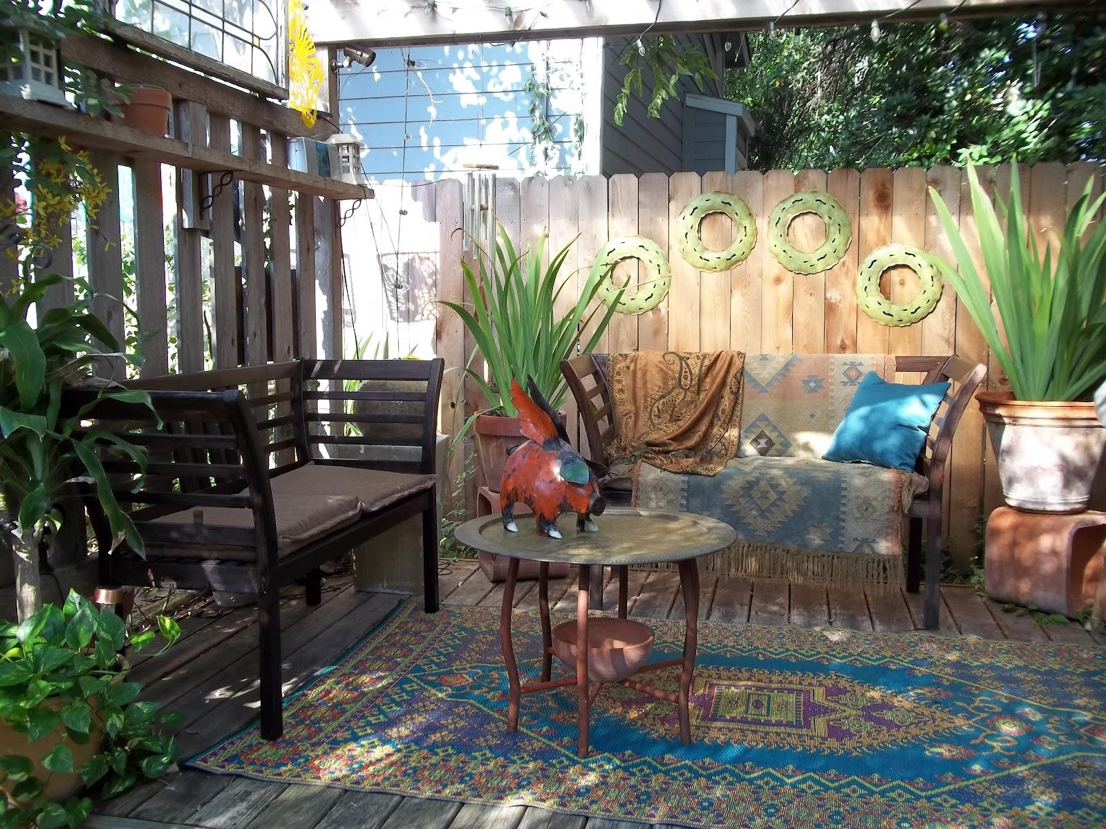 Rock Oak Deer Garden Tour San Antonio Style Texas