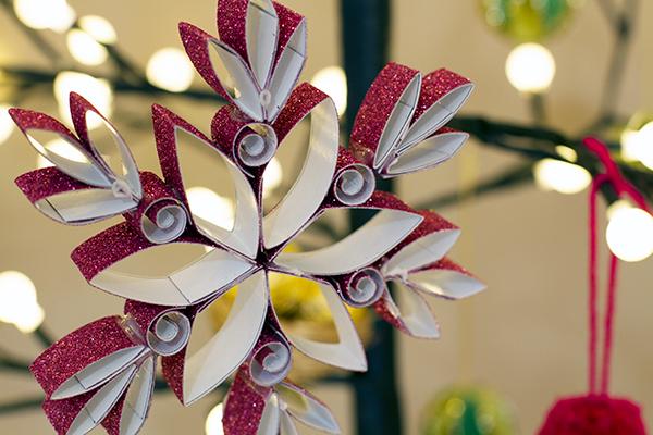 Adornos para rbol de navidad con glitter - Arboles de navidad adornos ...