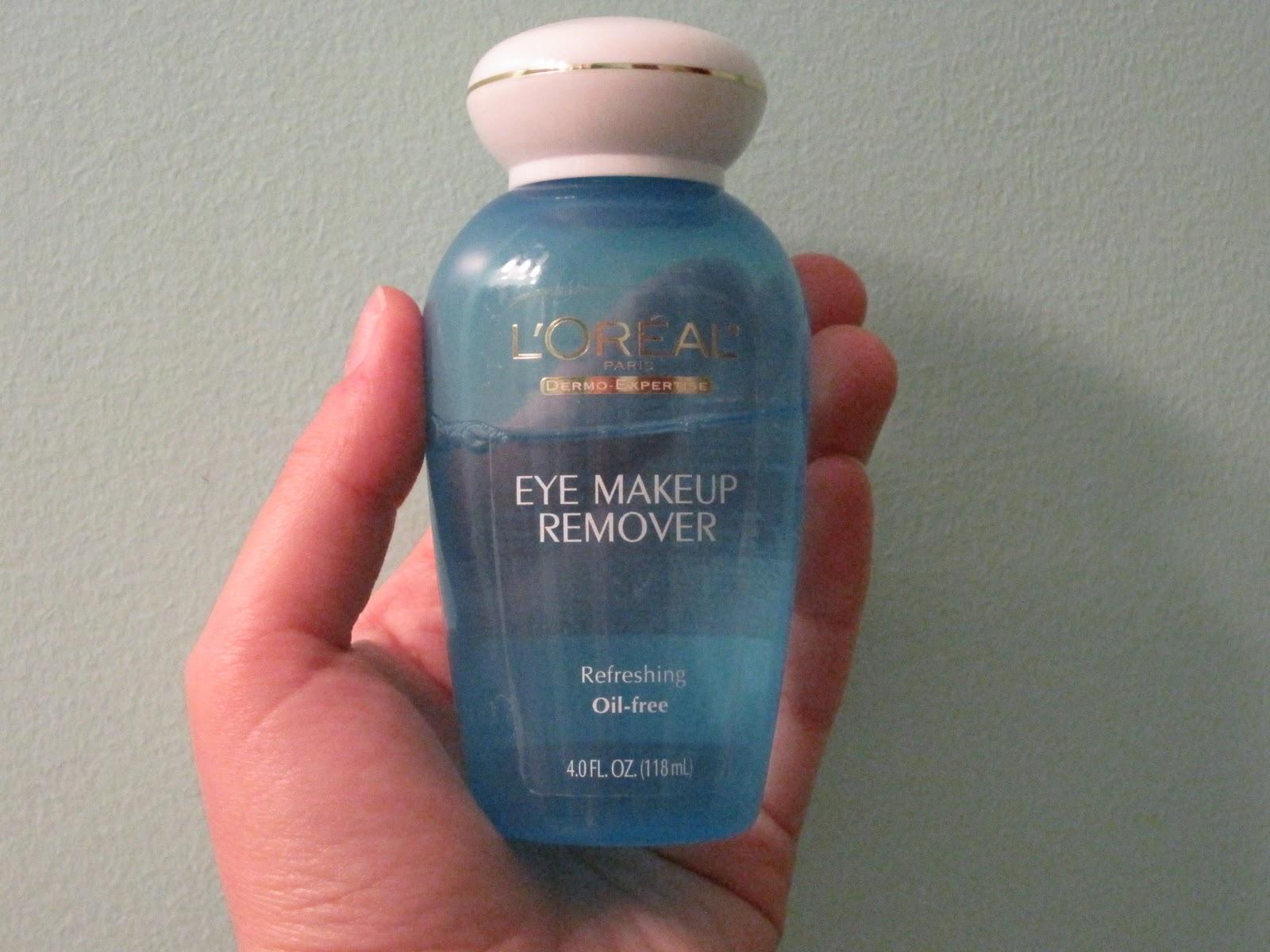 Eye makeup remover l oreal