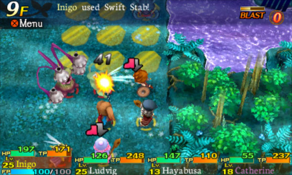 Etrian Mystery Dungeon Screenshot-1