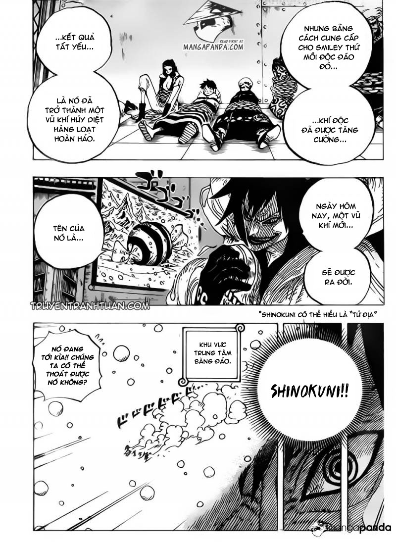 One Piece Chap 675