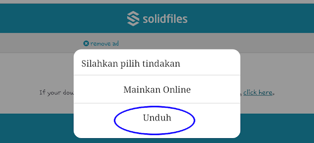 tahap akhir download solidifiles