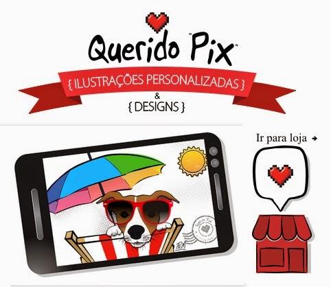 Querido Pix Design Ilustrações personalizadas