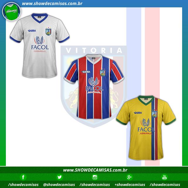 bdbcb222ab Garra divulga as novas camisas do Vitória das Tabocas - Show de Camisas
