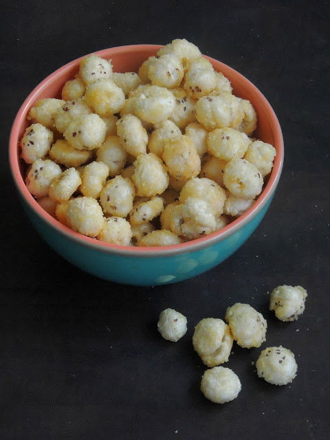 Sweet puffed lotus seeds