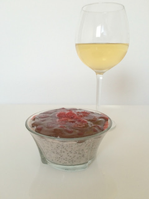 Chia seeds Pudding - Quick Sunday desert - Vegan!