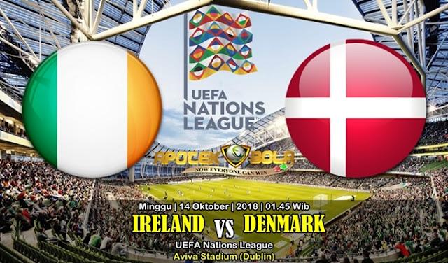 Prediksi Irlandia vs Denmark 14 Oktober 2018