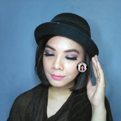 Simple tutorial with glitteru eyeshadow