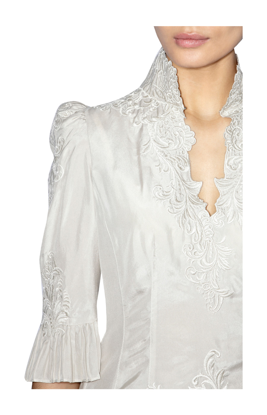 Fashion For Linda Karen Millen Lace Embroidery Blouse