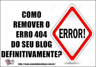 Como redirecionar os erros 404 do Blog.