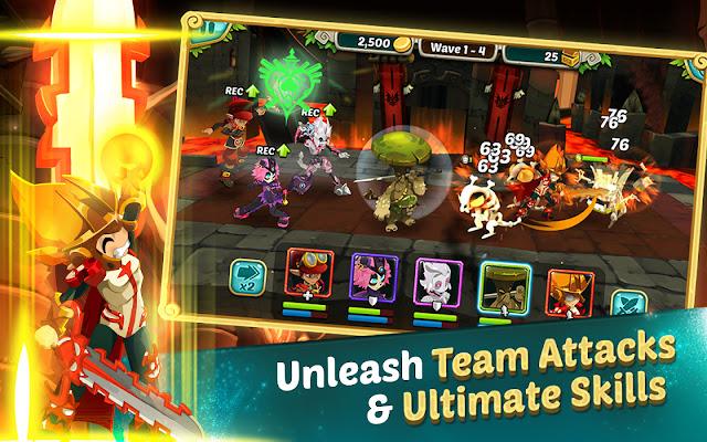 Game Android Wakfu Raiders v3.0.1 Mod Apk (Super Mega Mod)