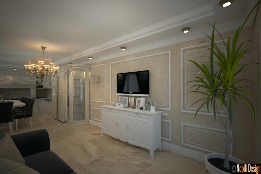 Amenajari interioare case stil clasic de lux - Amenajari Interioare case clasice in Bucuresti