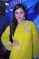 Mannara Chopra Looks Cute in Yellow Salwar Suit ~  Exclusive 08.JPG