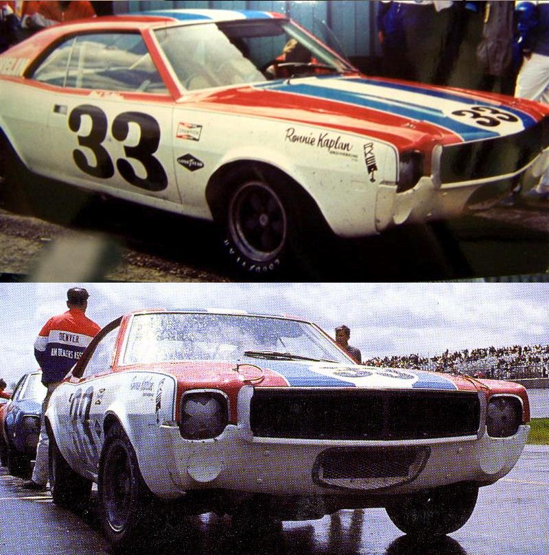Just A Car Guy: Ronnie Kaplan's #33 Javelin... 1970 Trans