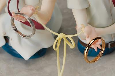 """Figuras: Galería de imágenes del set de figura + anillos de """"Dou kyu sei"""" -  FREEing"""