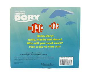 finding dory hello dory board book