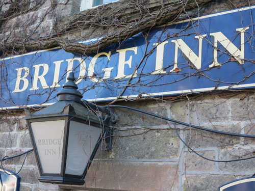 Bridge Inn Calver, UK