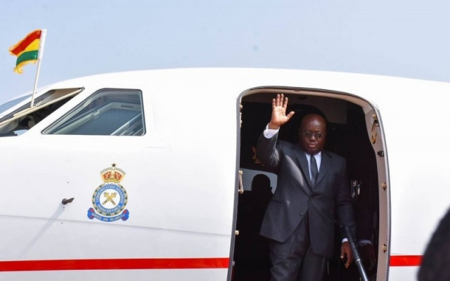 Akufo-Addo leaves for Francophone games in Ivory Coast