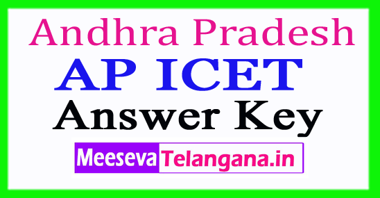 AP ICET Answer Key 2018