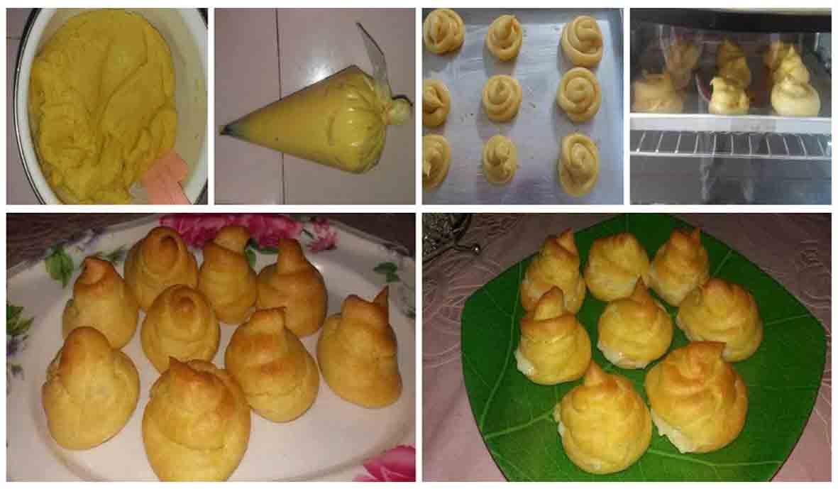 Resep Membuat Kue Sus. Lengkap Dengan Foto Step by Step