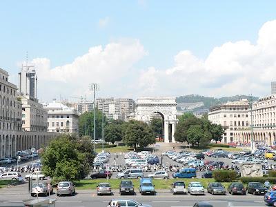 La ciudad de Genova. Italia. Que visitar en Italia. Que ver en Genova. Turismo en Genova. El Puerto de Genova