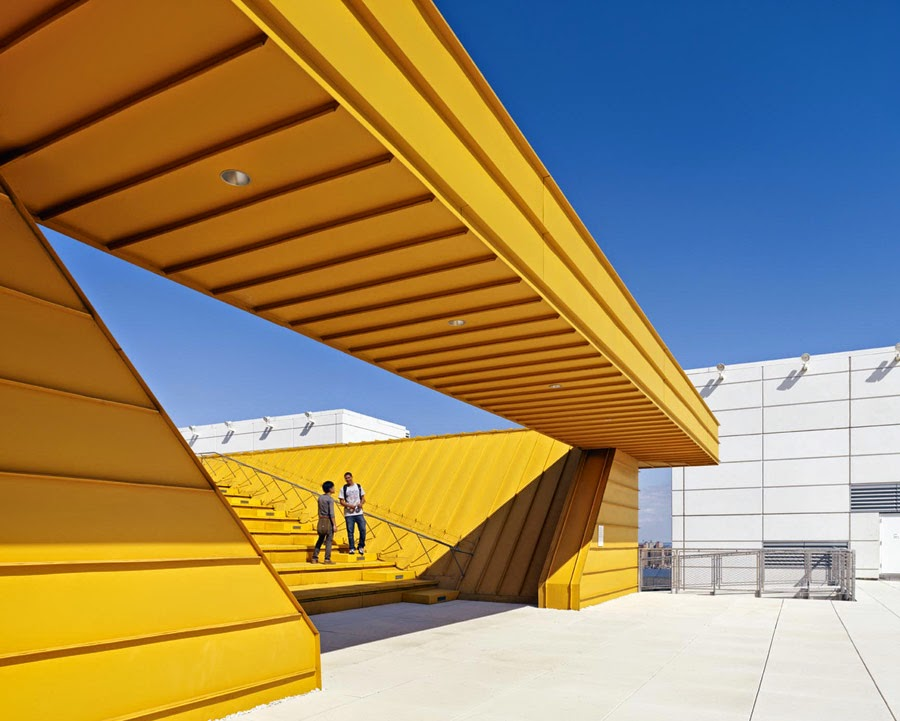 a daily dose of architecture: three educational buildings in new