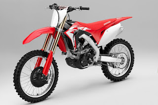 Honda CRF250R (2018) Front Side