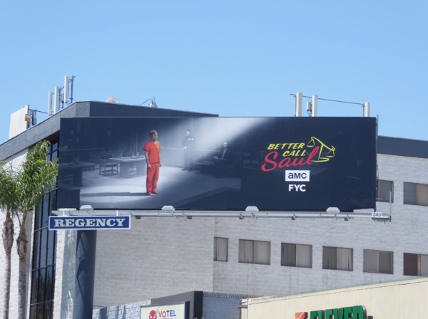 Better Call Saul 3 Emmy FYC billboard