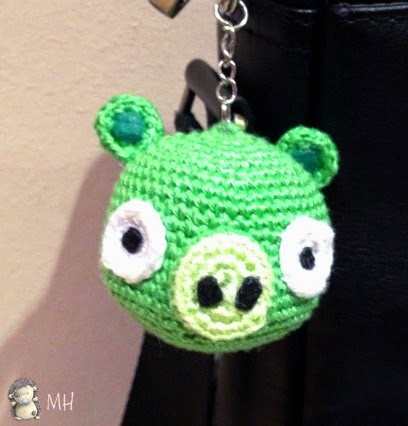 Amigurumi bad pig