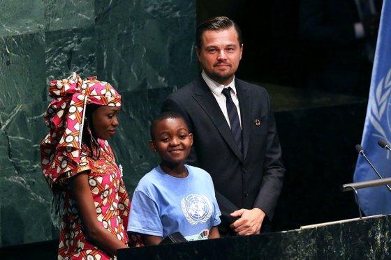 """""""El planeta no se salvará si no dejamos los combustibles fósiles"""": Leonardo DiCaprio"""