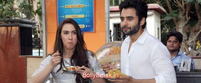 Lauren Gottlieb, Jackky Bhagnani, Hot HD Images of Lauren Gottlieb Promoting Welcome To Karachi