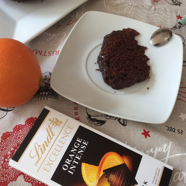 Chocolate Excellence Lindt Orange intense