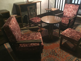 椅子の張り替え:生地<アンドリュー・マーチン>