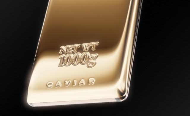 caviar galaxy note 9 fine gold edition