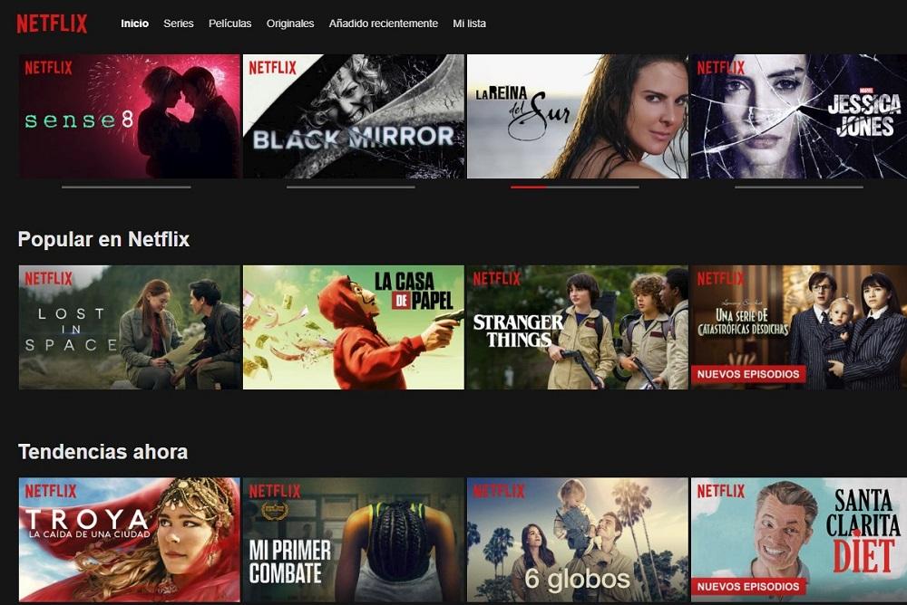 Netflix plataforma online para ver buen cine