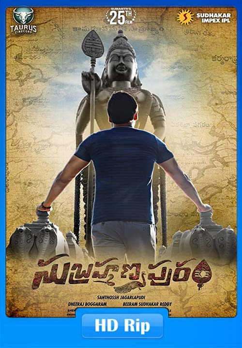 Subrahmanyapuram 2018 Hindi Telugu ESubs 720p HDRip x264 | 480p 300MB | 100MB HEVC