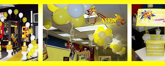 "And now...Introducing...""Balloon Decor"""