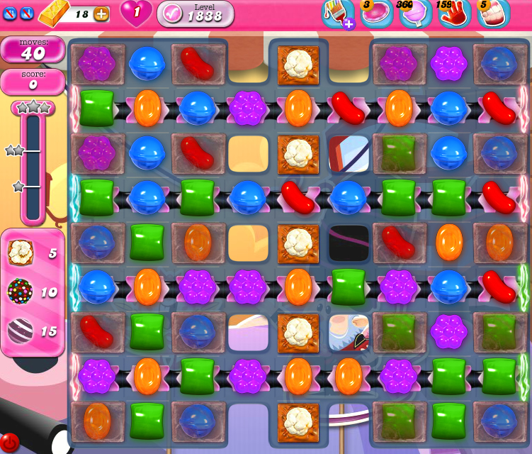 Candy Crush Saga 1838