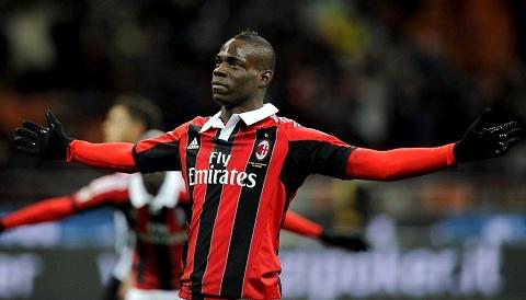 Balotelli thi đấu không như kỳ vọng