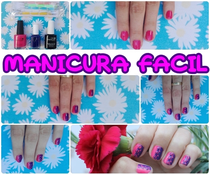 Manicura fácil uñas cortas paso a paso y original - Blog de belleza