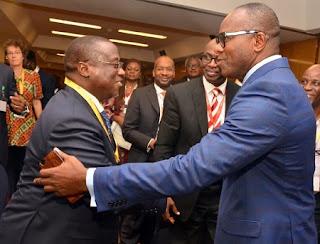Photo: Kachikwu, Baru Meet In Abuja