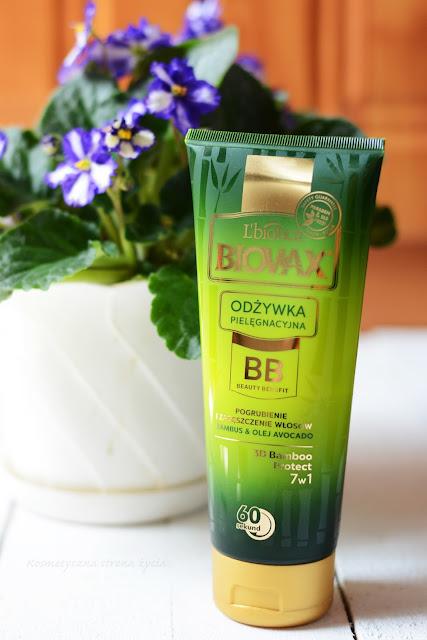 Biovax odżywka do włosów bambus i olej avocado