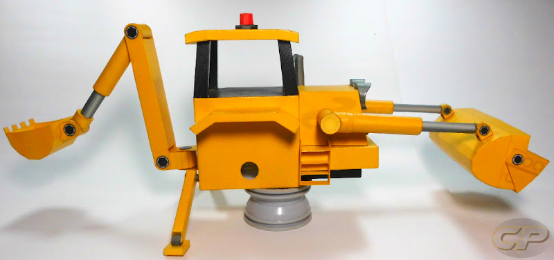 Scoop of Bob the Builder no wheels